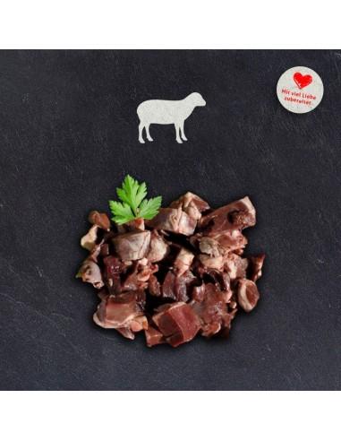 doggiefood gewürfeltes Lammherz