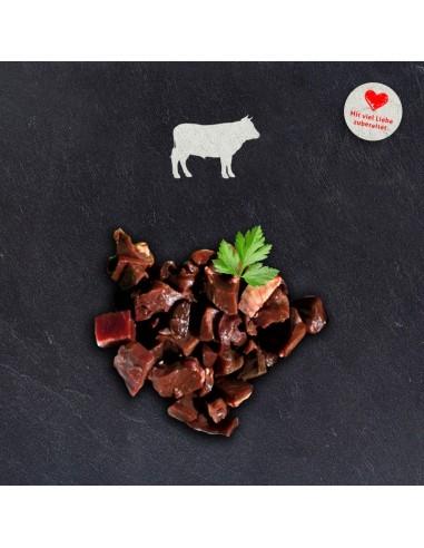 doggiefood gewürfeltes Rinderherz