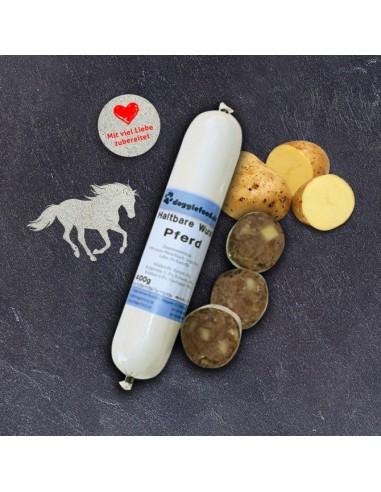 Hundewurst gekocht Pferd