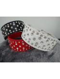 Hundehalsband Strass/Breit